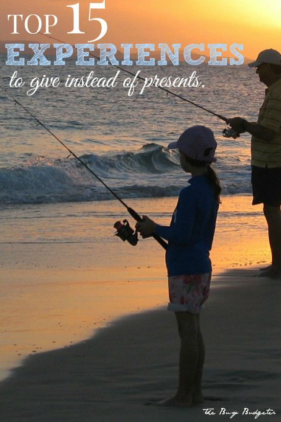 Giving Experiences instead of gifts. What to give, where to find them and why you need to do this. Stop spending money on junk that people don't need.