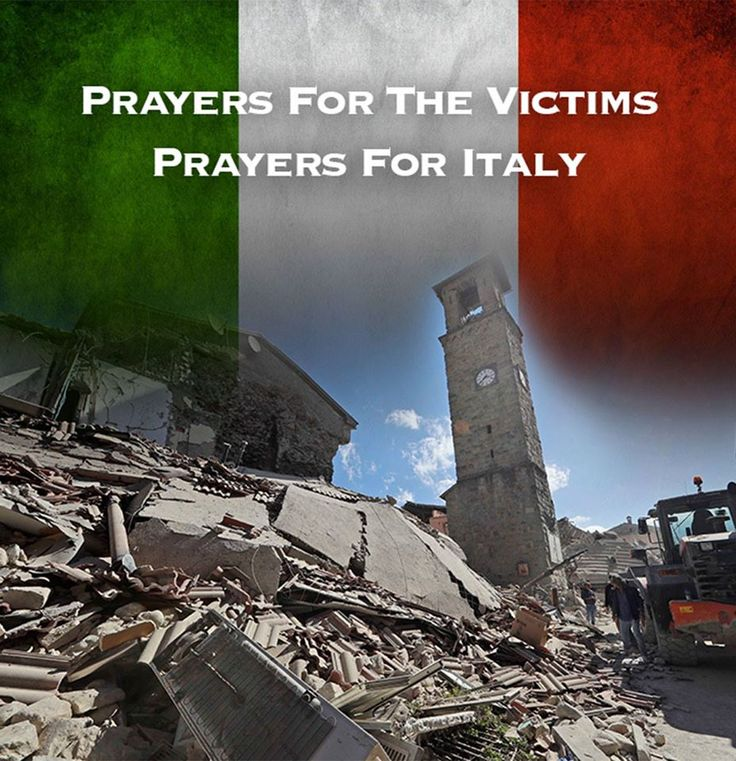 Central Italy Earthquake - 8-24-16