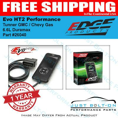 Details About Edge Evo Ht2 Tuner 2001 2019 Gmc Chevy 4 8l 5 3l 5 7
