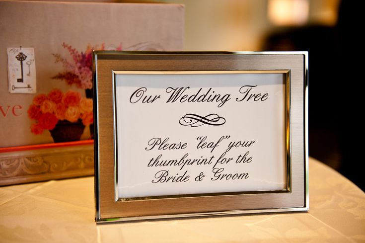 Guestbook Fingerprint Tree Wedding Alternative SMALL No Moss. $80.00, via Etsy.