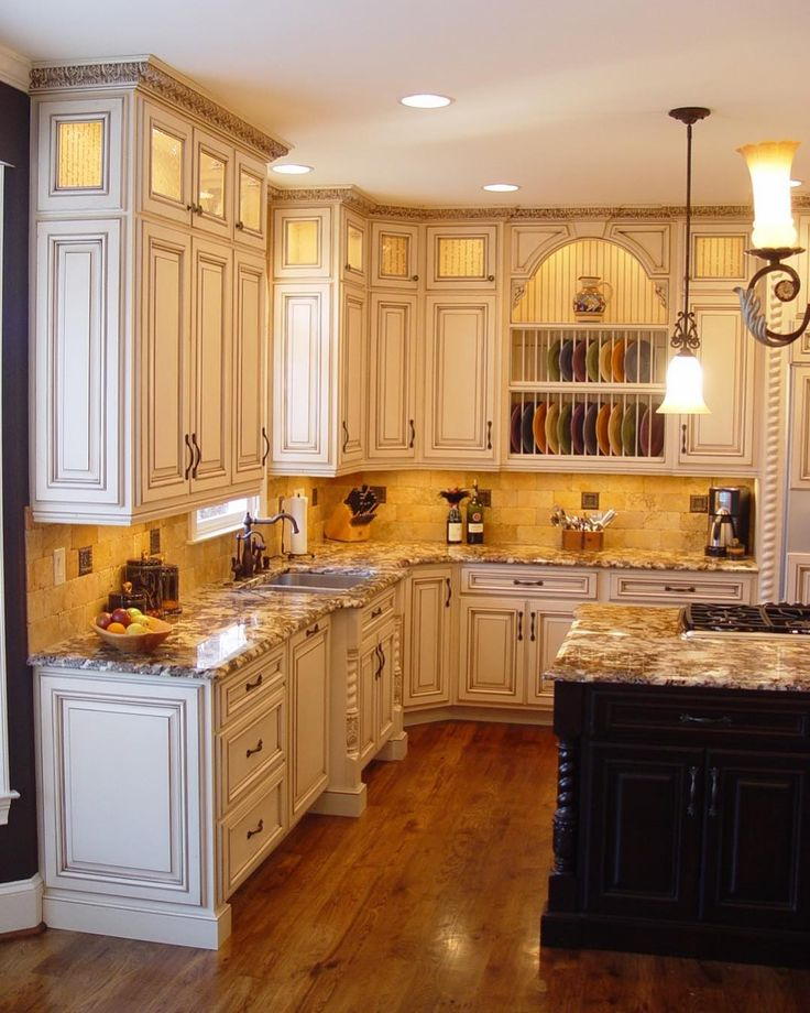 Top off your cabinets with decorative crown molding for ...