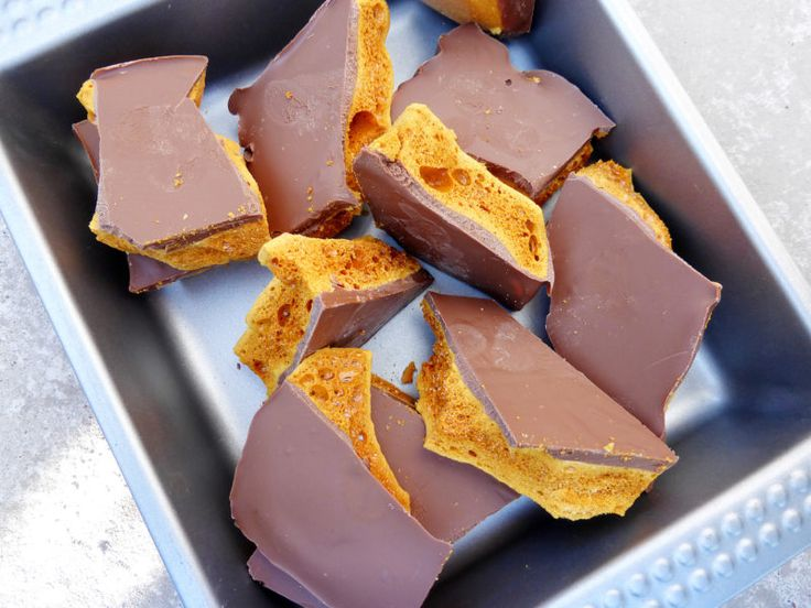 Bonfire Night Special: Chocolate Cinder Toffee