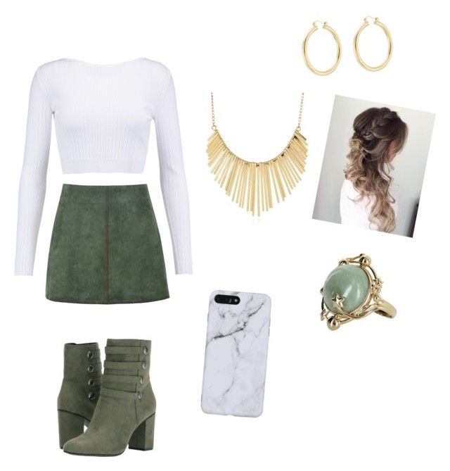 """St. Patrick's Day"" by mograceg ❤ liked on Polyvore featuring George J. Love, Cushnie Et Ochs, Kenneth Cole Reaction, WithChic, Vintage and Isabel Marant"