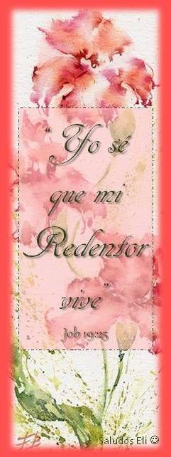 Yo sé que mi Redentor vive Job 19:25
