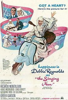 "The Singing Nun (1966) stars Debbie Reynolds as Jeanine Deckers, a nun who recorded the chart-topping song ""Dominique"".  It was the last film for both Agnes Moorehead and Greer Garson."