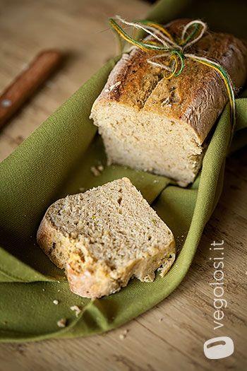 Pane vegano ai fagiolini