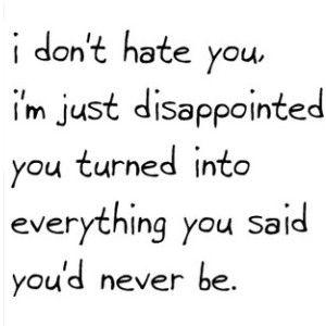 Ik hoor het je nog zeggen... Tis geen verwijt maar damm het doet pijn...