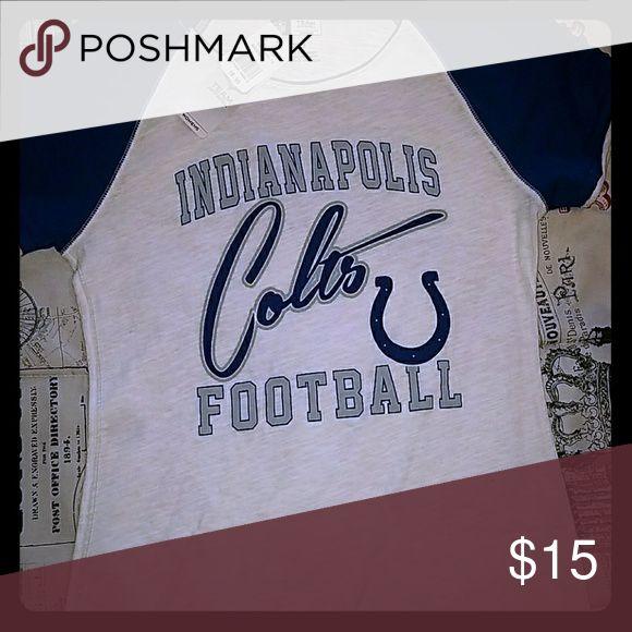 NFL Colts tee Brand new NFL team apparel tshirt nfl team apparel Tops Tees - Short Sleeve