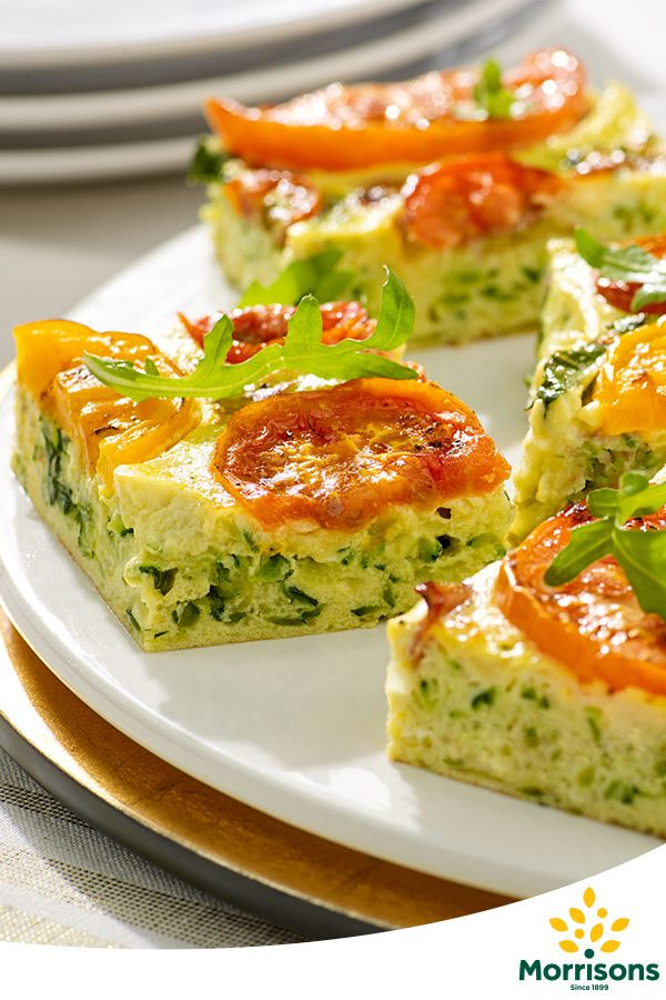 In the mood for celebration? Try our vegetarian Tomato and courgette frittata recipe from our Emotion Cookbook