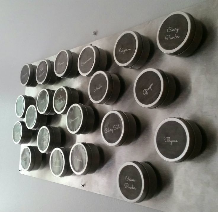 17 Best Ideas About Magnetic Spice Racks On Pinterest