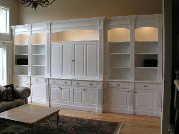 Fix that cut out with built in shelves