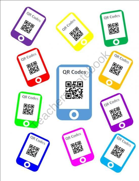 FREE QR Code Template from Teaching With Heart In Texas on TeachersNotebook.com - (10 pages) - FREE QR Code Template