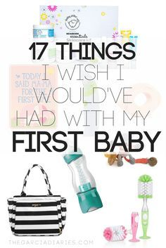 17 products i wish i would've had with my first baby! first time moms need to see this list!