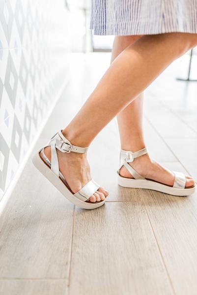 c52c7f0b872f MIA  The Ellen Sandal in Silver