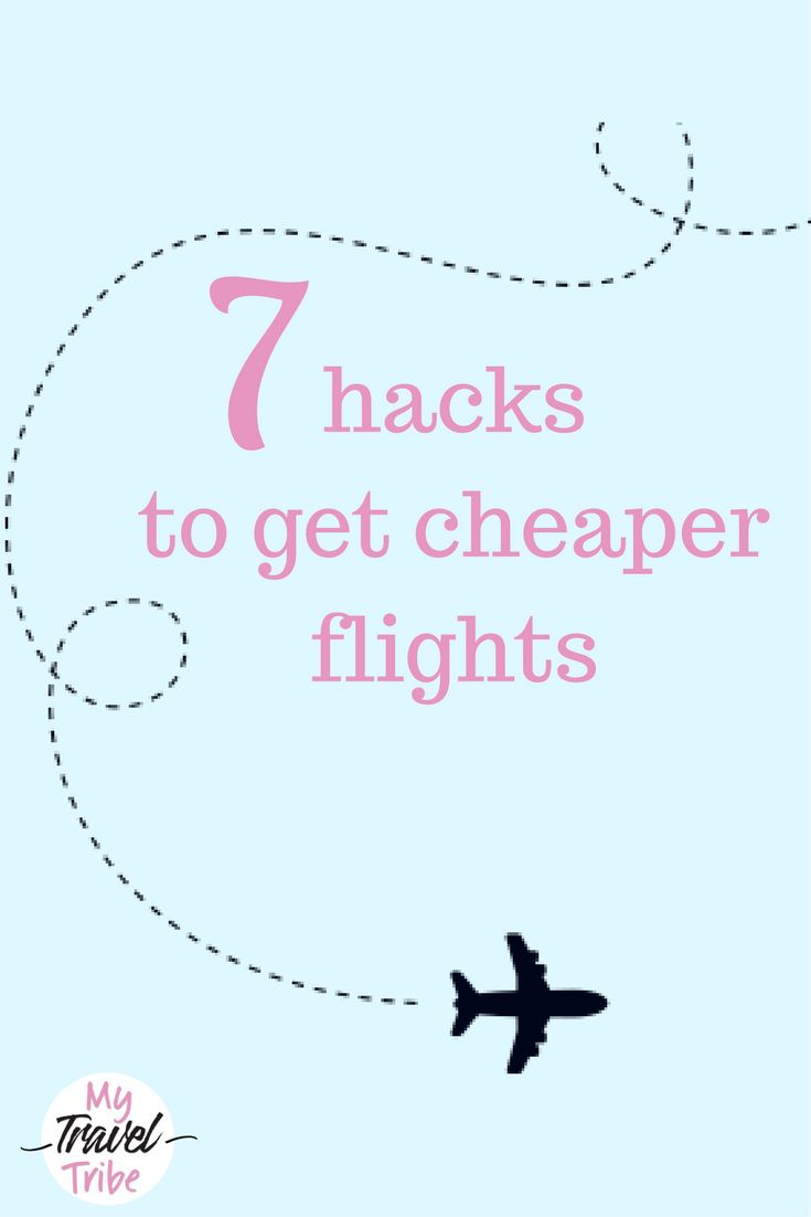 7 hacks to help you get the best priced flights. Don't let the high cost of flights stop you from travelling the world. Get rock bottom prices with some practical cheap flight searching tips and the best flight websites.