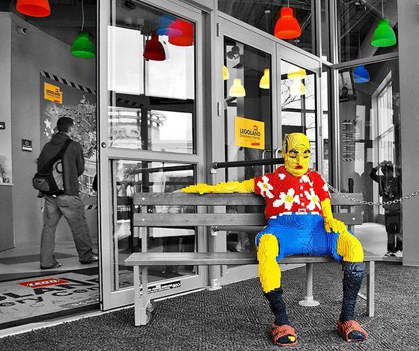 Ностальгия по детству или как LEGO удается противостоять цифре #Legoland #Billund