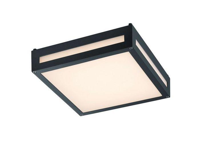 Plafonnier extérieur Newa anthracite LED