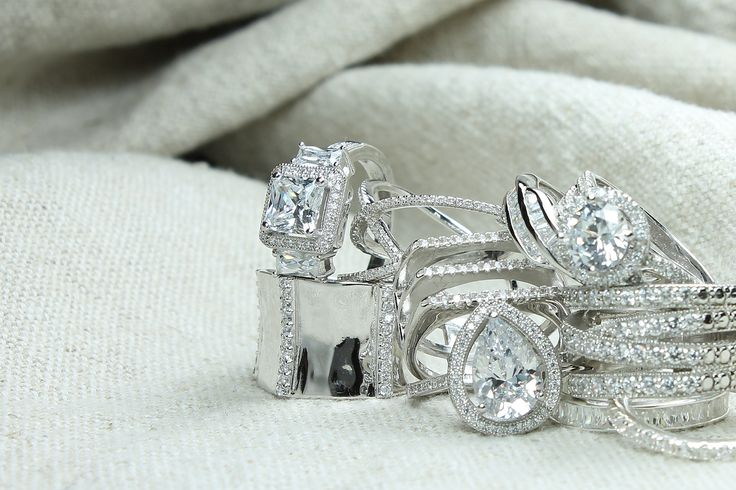 Rings! Gorgeous Rings!  www.lionnedesigns.com #sterlingsilver #cubiczirconia #rings #style #love