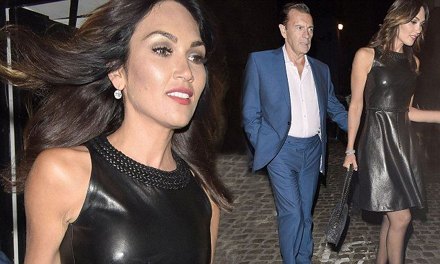 Duncan Bannatyne and Nigora Whitehorn at London's Chiltern Firehouse
