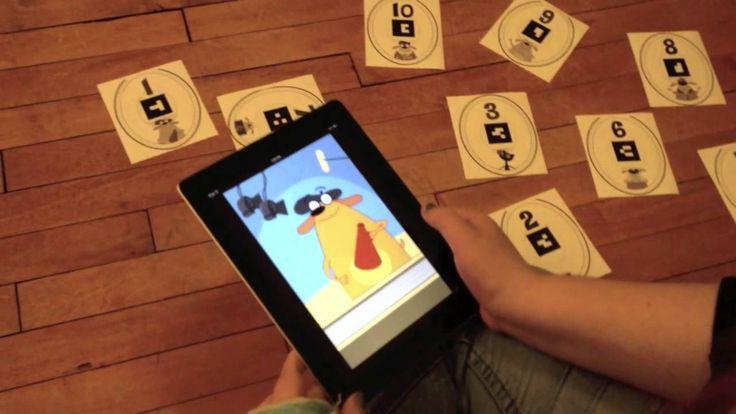 Los niños aprenden cálculo jugando con la realidad aumentada. FETCH Lunch Rush App by PBS Kids. # primaria  #RA