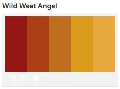 11 best paint color design and decorating images on for Old west color palette