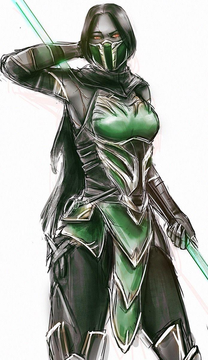 Mortal Kombat 11 Jade By Chooone Jade Mortal Kombat Mortal