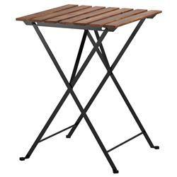 Το τραπέζι είναι πτυσσόμενο ώστε να αποθηκεύεται εύκολα όταν δεν το χρησιμοποιείτε.