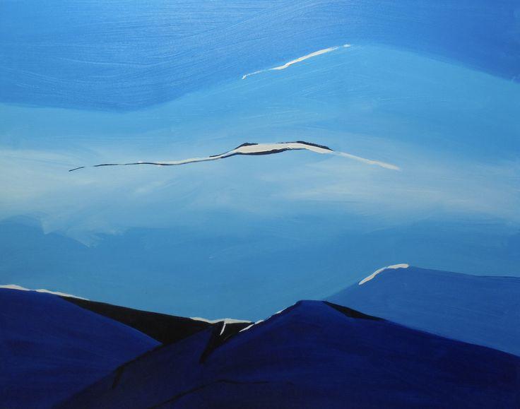 SUCH A LANDSCAPE by Polish contemporary artist Jacek Sikora.