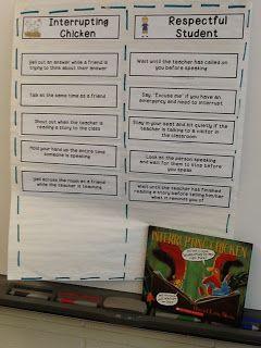 Interrupting Chickens: Curing the Blurts in Class