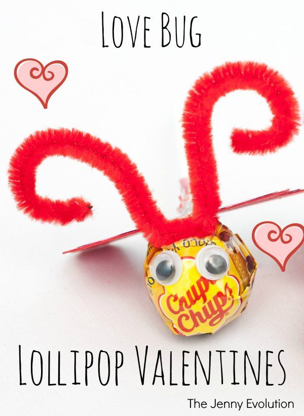 valentine photo lollipop cards