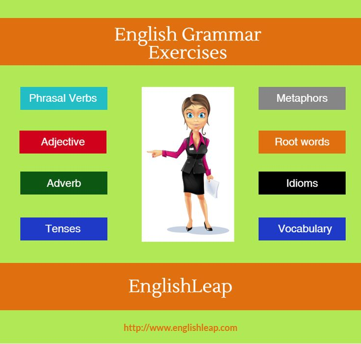 To learn English Tenses, Englishleap.com facilitates online exercises. They provide a very strategic and easy to learn English-Exercises and tutorials.