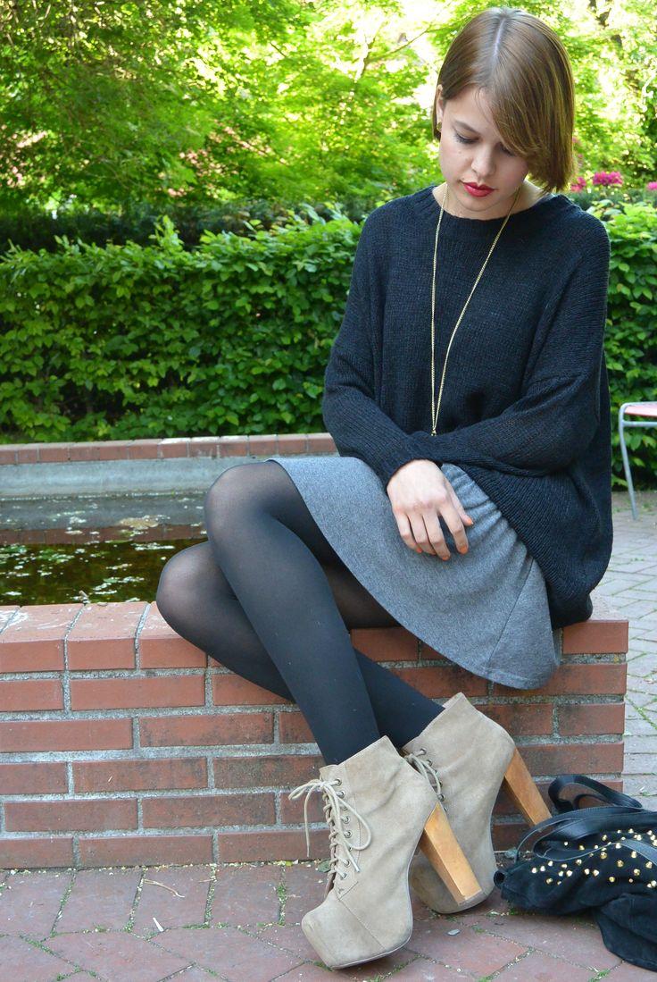 Evil Twin Pullover, Minkpink Kleid und Jeffrey Campbell Schuhe erhältlich bei Frida Fashion Schweiz oder online unter www.fridafashion.ch