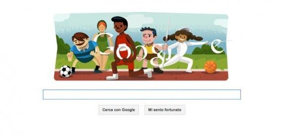 Il primo effetto social della giornata è sempre lui. Big G. Con i suoi giochi... Cerimonia di apertura Olimpiadi 2012 di Londra: il #Doodle di #Google