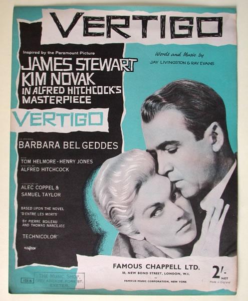 """""""Vertigo"""" (Alfred Hitchcock).  Loved this movie!!"""