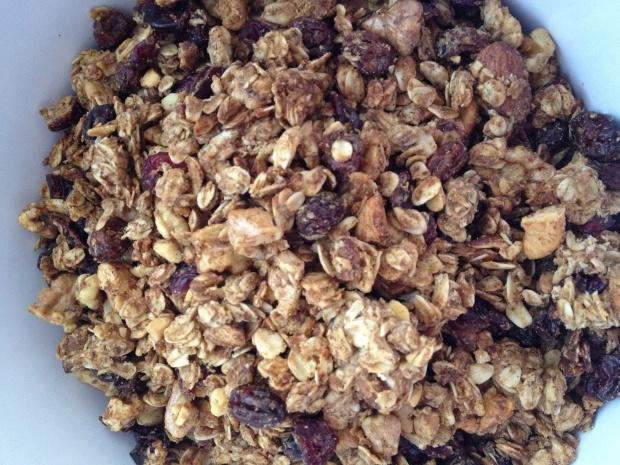 Oatmeal raisen cookie Granola (Gluten Free)