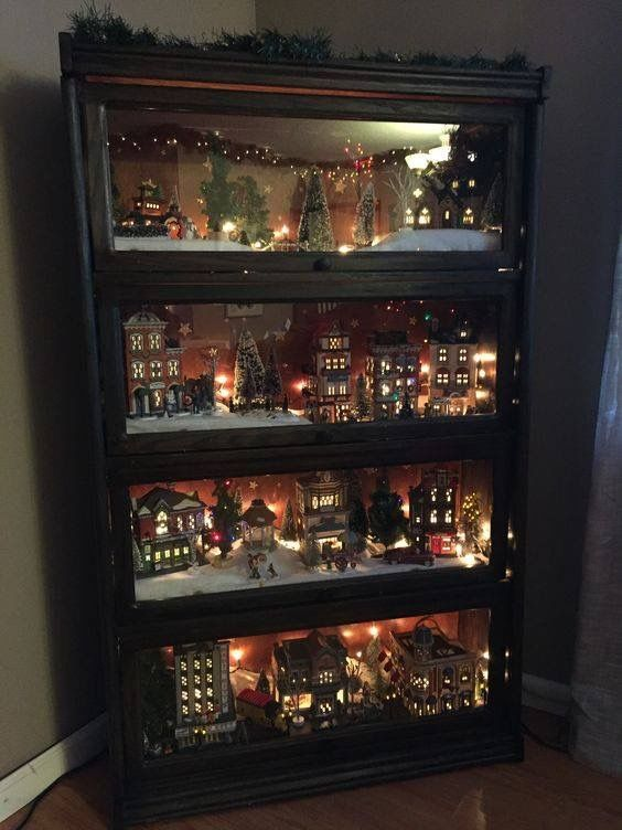 Awesome DIY Christmas Decorations on a Budget – Christmas Village Display