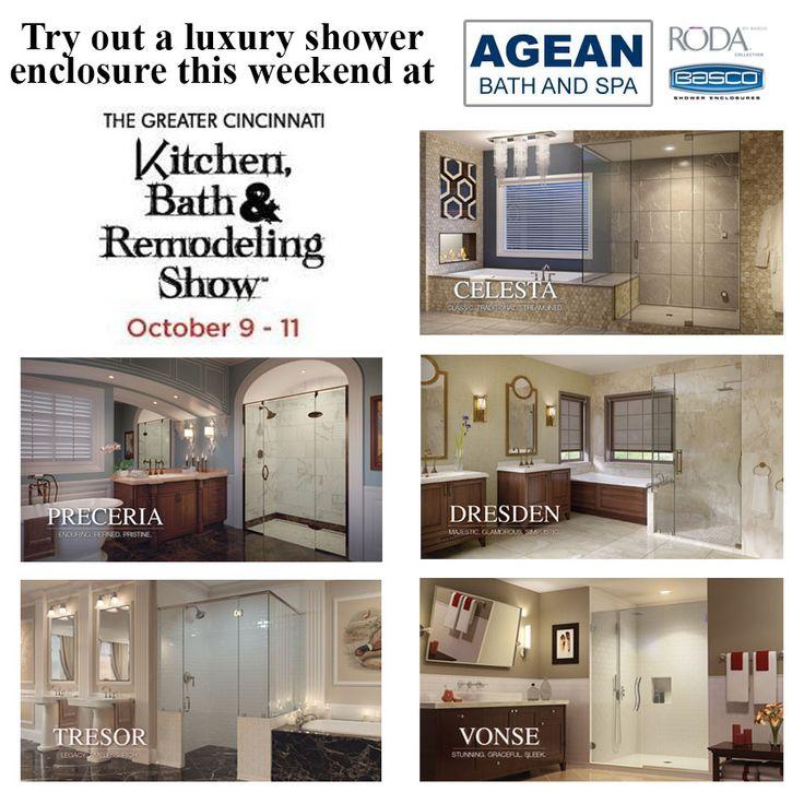 Visit Agean Bath U0026 Spa At The Greater Cincinnati Kitchen, Bath U0026 Remodeling  Show ...