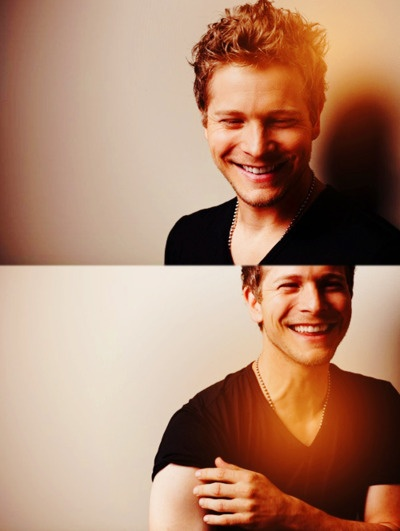 Matt Czuchry (aka Logan from Gilmore Girls)  I was always so jealous of Rory...
