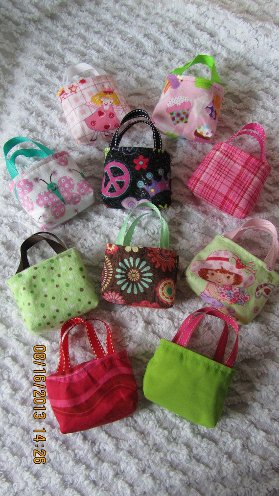 American Girl 18 inch doll purses set of 10 great by JMagaClothing, $10.00