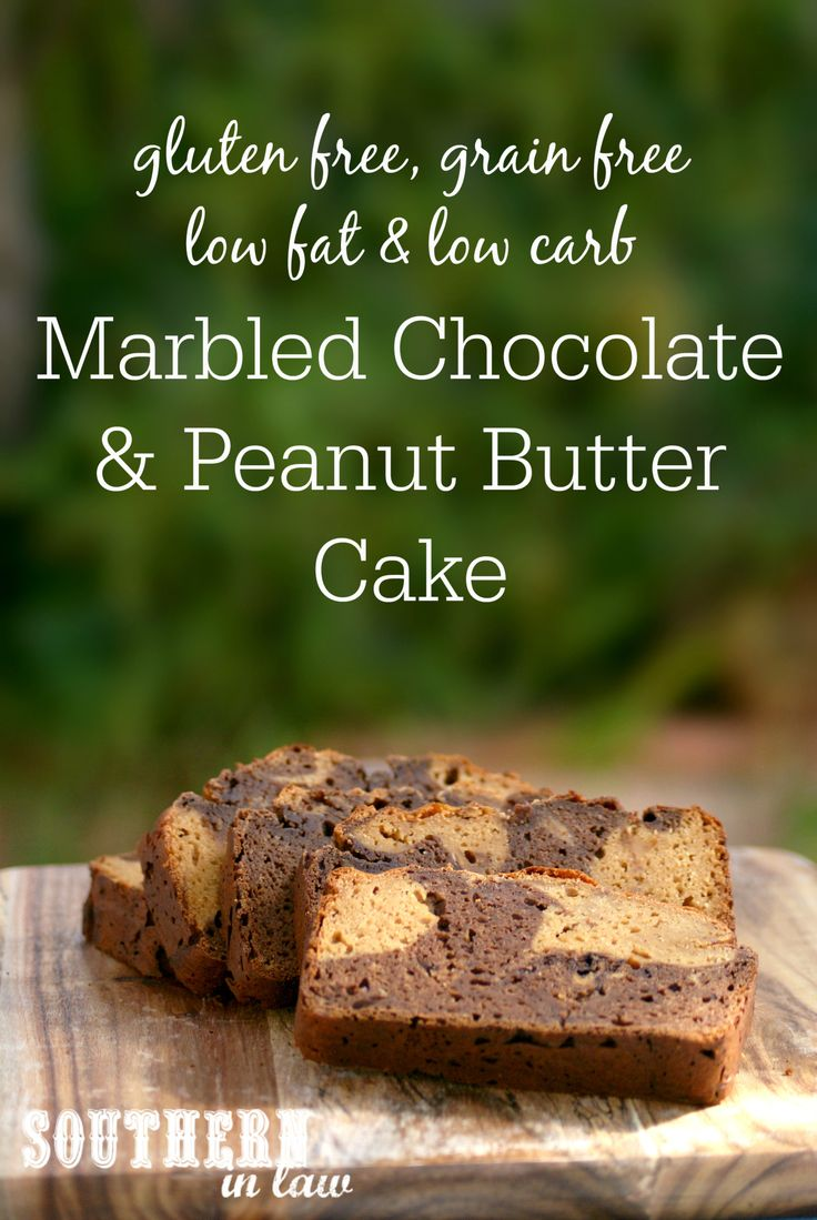 This Peanut Butter and Chocolate Swirl Bread is seriously healthy - but you would never believe it. The recipe is low fat, low carb, gluten free, grain free, refined sugar free, high in protein AND deceptively simple. Nutrition facts on the recipe!