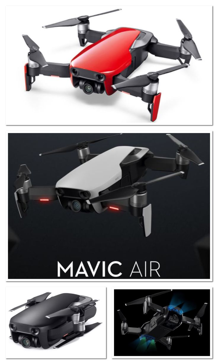 New Portable DJI Mavic Air Drone - Very easy to fly using either remote control ...