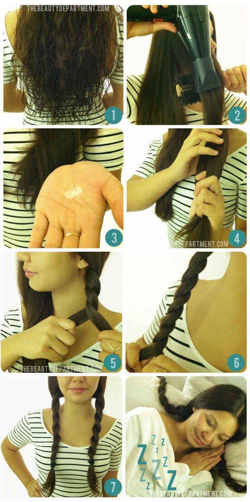 Cordas boêmias torcidas hoje, cabelo ondulado amanhã. | 13 penteados geniais que duram dois dias inteiros