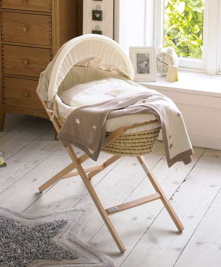 Moses basket, I'd love this for our master bedroom