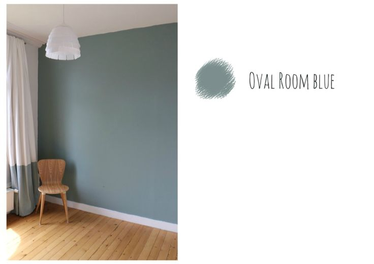 oval room blue paint by farrow & ball. I do NOT link white trim with this color. prefer all blue trim... and ceiling and door?