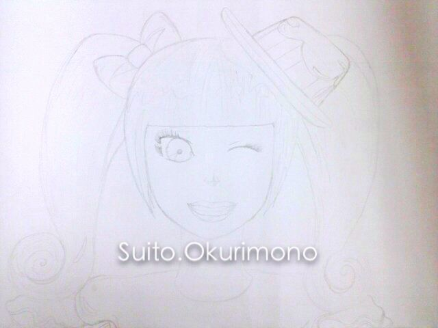 First past / pencil / Kyary Pamyu Pamyu / Anime