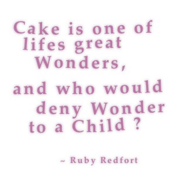 Cake - Ruby Redfort