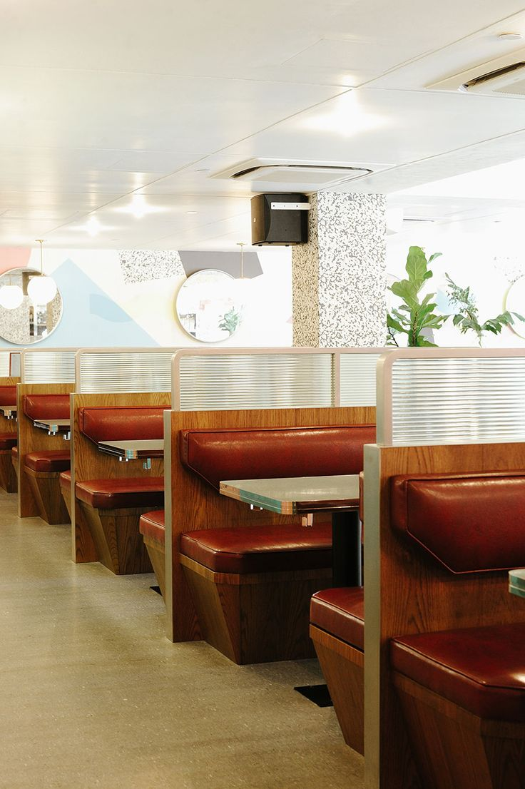 OverEasy Orchard: a Modern All-Pastel Nostalgic Diner in Singapore