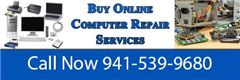 Sarasota computer repair services at Alpha Computer Services is fast and affordable! Our highly trained IT technicians can come to your home or office for onsite computer repair or come to us at 5439 Sawgrass RD, Sarasota, FL 34232 for inshop pc repair. We also provide remote computer repair for the faction of the cost.  Remote PC Repair $35 Inshop PC Repair $50 Onsite PC Repair $60  Our web services include: Shared web hosting Doman name registration https://www.acshostings.com