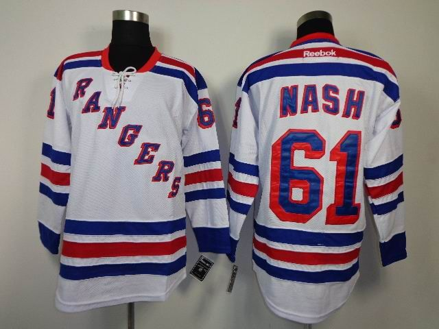 ... New York Rangers 61 Rick NASH Road Jersey Reebok NHL Mens Rick Nash  Navy Blue ... 136bbf34c