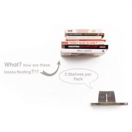 Emerging Creatives Floating Bookshelves Set of 3 - Yuppiechef
